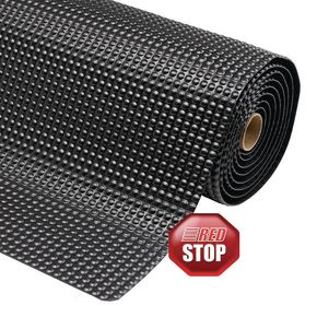 Heavy duty anti-fatigue industrial matting- All black - Choice of 2 mat sizes