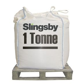 White de-icing salt 1 tonne bulk bag