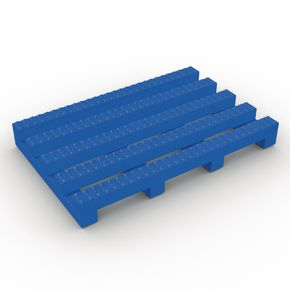 Vynagrip® heavy duty slip resistant PVC matting - Blue, per linear metre 600mm width