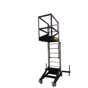 Counterbalanced access tower