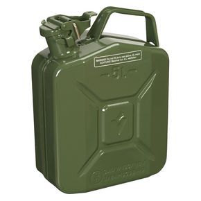 Metal jerry can, 5L capacity