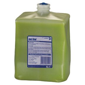 Deb lime frequent duty hand cleanser 4L