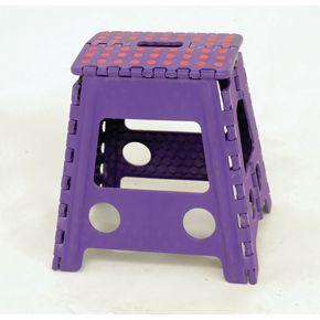 Fold flat plastic step stools - 360mm high