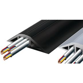 Flexible multi compartment indoor cable protectors