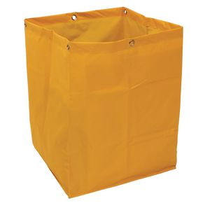 Spare yellow PVC sack