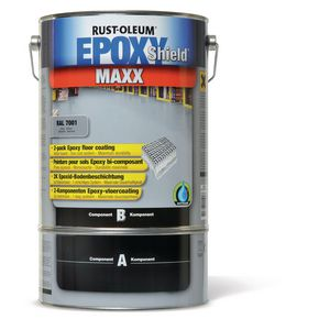 Heavy duty epoxy floor paint