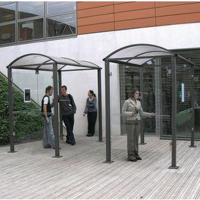 Classic smoking/vaping shelter