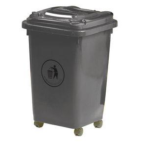 50L Wheeled waste litter bin