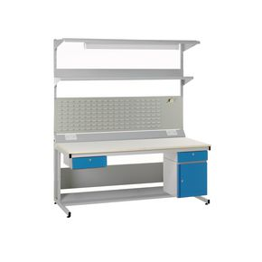 Cantilever frame workbenches