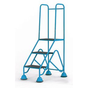 Easy glide mobile cup steps, EN131 compliant