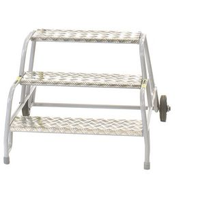 Mobile buttress steps - Handrails available separately