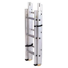 Sectional 'surveyors' ladder