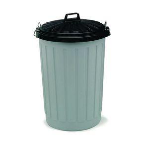 90L plastic round dustbin