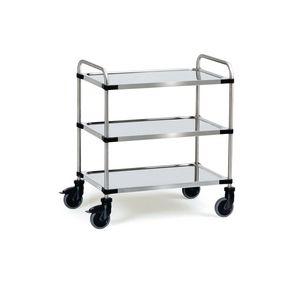 Fetra modular stainless steel trolleys
