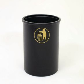 Lunar 95 litre recycled victorian style bin