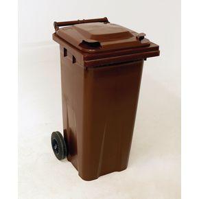 Wheelie bins 140L Brown