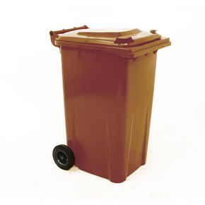 Wheelie bins 240L Brown