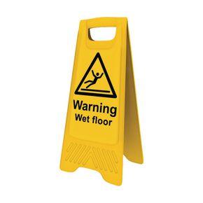 Wet floor A board sign