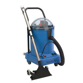 Deep clean carpet extraction machine