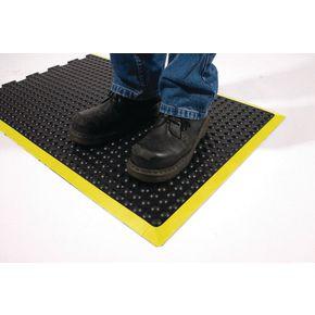 Anti-fatigue rubber safety bubblemat - 0.6m x 0.9m