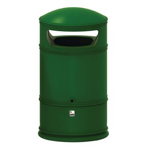Heritage hooded top litter bin