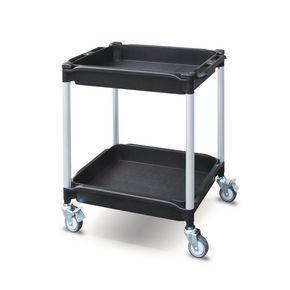 Plastic tray trolleys