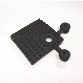 Heavy duty open-grid interlocking flooring - Corner pieces