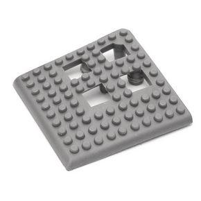Flexible open-grid PVC floor tiles, corners - pk of 4