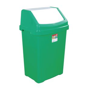 Coloured recycling swing bin