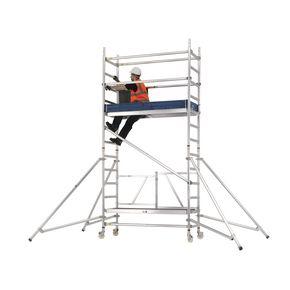 Premium folding  mobile work platform and tower