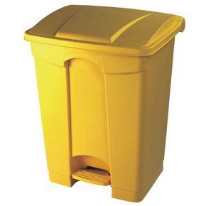 Plastic pedal bin