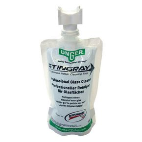 Unger Stingray Professional 3m Scotch Guard Glass Cleaner 24 x 150ml Pouches