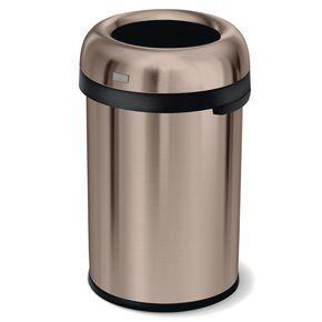 115 litre bullet open top rubbish bin