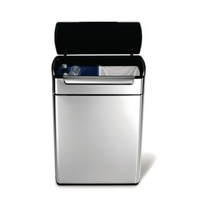 48 litre touch-bar waste recycler