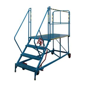 Double sided mobile access platforms