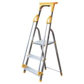 Budget aluminium safety platform steps