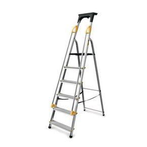 Budget aluminium safety platform steps