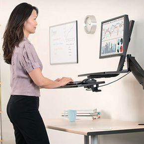 SmartFit™ sit stand workstation