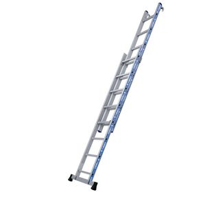 Two section push up ladders