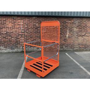 Forklift folding access platform