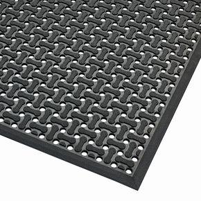 Reversible rubber hygiene mat