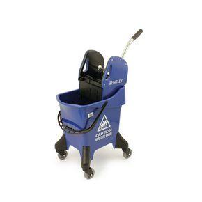Mobile mop bucket combo