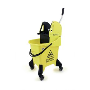 Mobile mop bucket combo