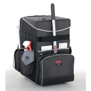 Rubbermaid quick cart cleaning trolley