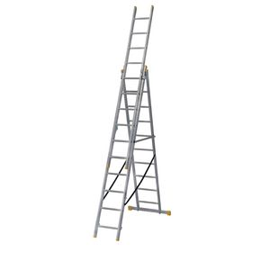 3-section combination ladders