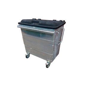 Galvanised 4 wheel bins
