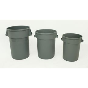 Budget heavy duty round plastic containers