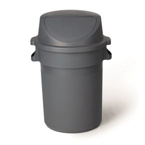 Budget heavy duty large waste bin with lid