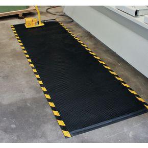 Ultimate heavy duty anti-fatigue rubber foam mats, 1500 x 850mm