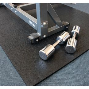 Heavy duty shock absorbing rubber mats, 17mm thickness